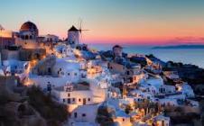 Santorini dusk