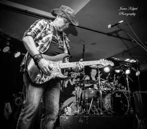 Ash guitar & Nigel BW