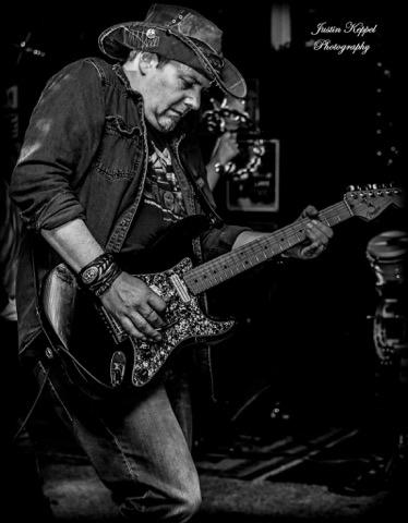 Ash BW guitar